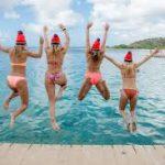 Nieuwjaars duik Jan Thiel Curacao stagaires