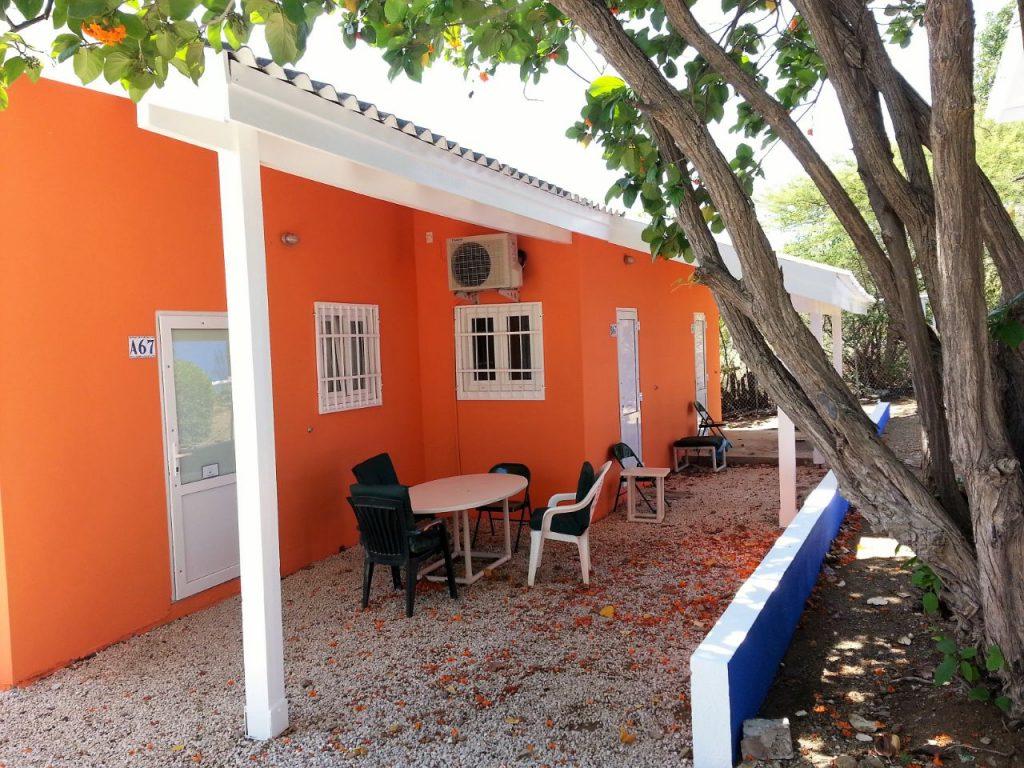 Buitenaanzicht Studio Curacao