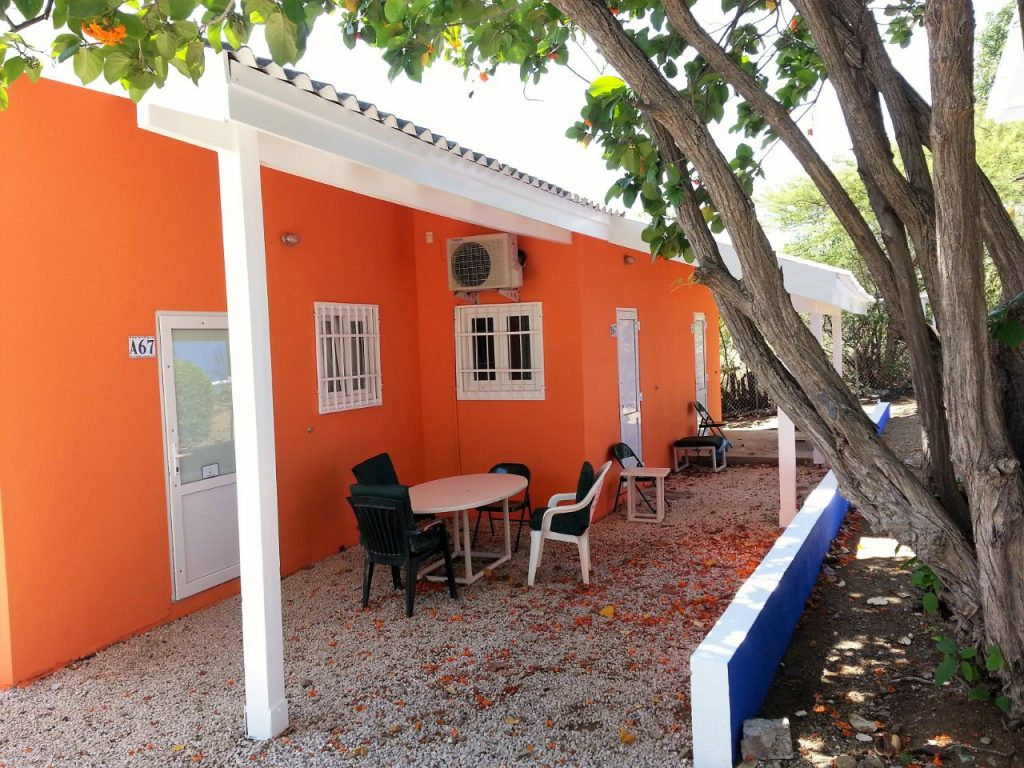 Studentenhuis Curacao Studiotuin