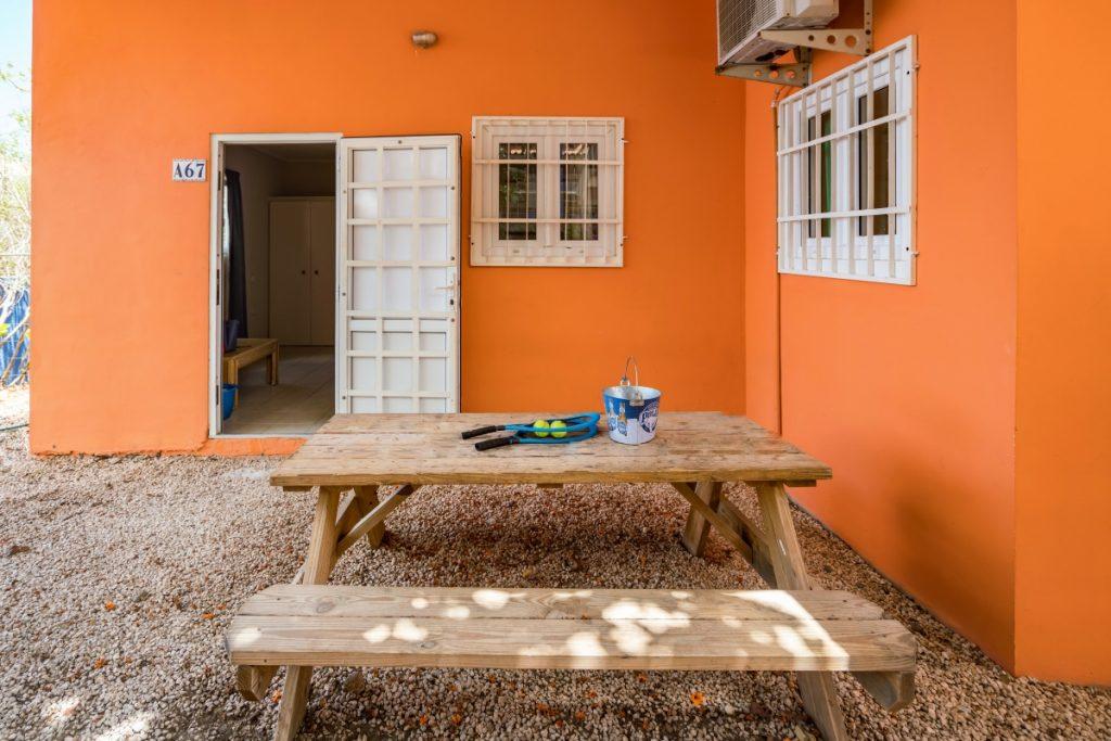 Studio A Studentenkamer Curacao buiten