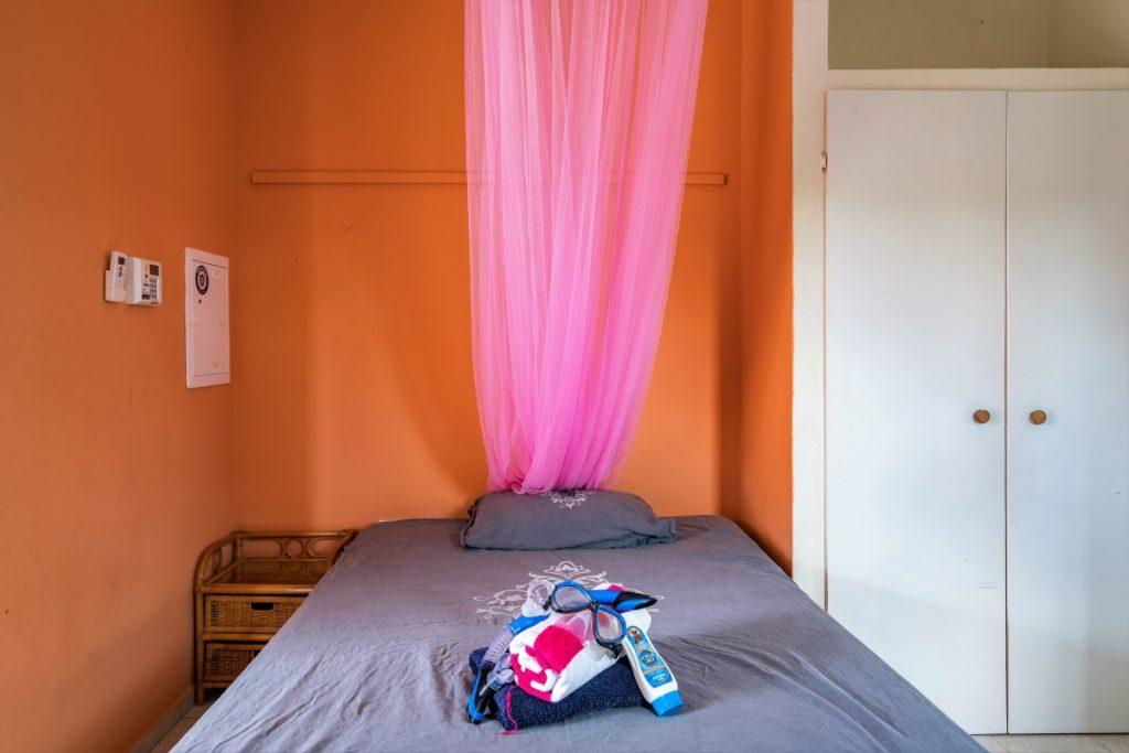 Studio C3 Studentenhuis Curacao met bed